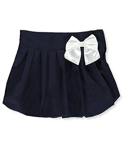 Cherokee Little Girls' Scooter Skirt with Bow (Sizes 4 – 6X) - CookiesKids.com