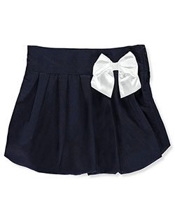 Cherokee Big Girls' Scooter Skirt with Bow (Sizes 7 – 16) - CookiesKids.com