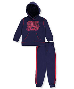 Disney Cars Little Boys' Toddler 2-Piece Sweatsuit (Sizes 2T – 4T) - CookiesKids.com