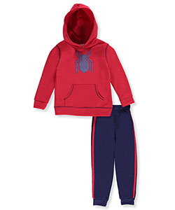 Spider-Man Little Boys' Toddler 2-Piece Fleece Sweatsuit (Sizes 2T – 4T) - CookiesKids.com