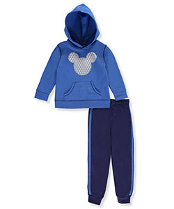 Mickey Mouse Little Boys' Toddler 2-Piece Fleece Sweatsuit (Sizes 2T – 4T) - CookiesKids.com