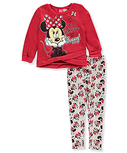 Disney Minnie Mouse Little Girls' Toddler 2-Piece Outfit (Sizes 2T – 4T) - CookiesKids.com