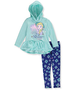Disney Frozen Little Girls' Toddler 2-Piece Outfit (Sizes 2T – 4T) - CookiesKids.com