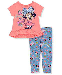 Disney Minnie Mouse Baby Girls' 2-Piece Outfit - CookiesKids.com