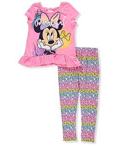 Disney Minnie Mouse Girls' 2-Piece Outfit - CookiesKids.com