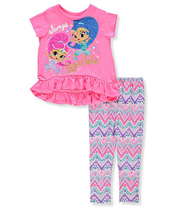 Shimmer and Shine Girls' 2-Piece Outfit - CookiesKids.com