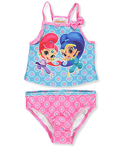 Shimmer and Shine Girls' 2-Piece Tankini - CookiesKids.com