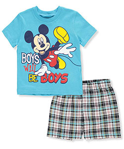 Mickey and the Roadster Racers Baby Boys' 2-Piece Outfit - CookiesKids.com