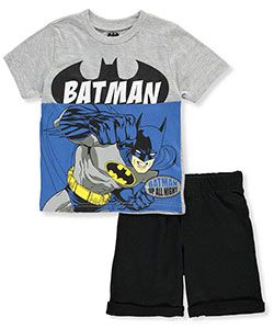 Batman Boys' 2-Piece Outfit - CookiesKids.com
