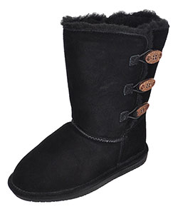 Bearpaw Girls' Suede Boots (Youth Sizes 13 – 5) - CookiesKids.com