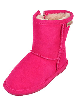 Bearpaw Girls' Suede Boots (Toddler Sizes 7 – 12) - CookiesKids.com