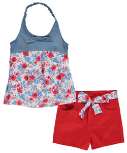 "Penny M Big Girls' ""Rosie"" 2-Piece Outfit (Sizes 7 – 16) - CookiesKids.com"
