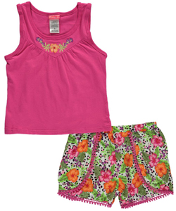 "Penny M Big Girls' ""Picnic Party"" 2-Piece Outfit (Sizes 7 – 16) - CookiesKids.com"