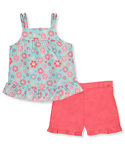 Park Bench Kids Little Girls' Toddler 2-Piece Outfit (Sizes 2T – 4T) - CookiesKids.com