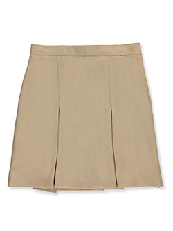 Cookie's Brand Little Girls' Pleated Side Button Skirt (Sizes 4 - 6X) - CookiesKids.com