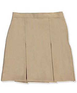 Cookie's Brand Big Girls' Pleated Side Button Skirt (Sizes 7 - 16) - CookiesKids.com