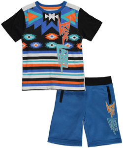 "Blac Label Little Boys' ""Pueblo Star"" 2-Piece Outfit (Sizes 4 – 7) - CookiesKids.com"