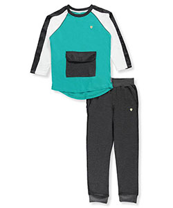Black Label Big Boys' 2-Piece Outfit (Sizes 8 – 20) - CookiesKids.com