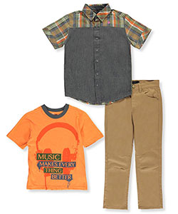Blac Label Big Boys' 3-Piece Outfit (Sizes 8 – 20) - CookiesKids.com
