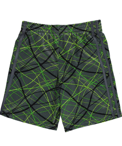 "Champion Big Boys' ""Laser Lightshow"" Athletic Shorts (Sizes 8 – 20) - CookiesKids.com"
