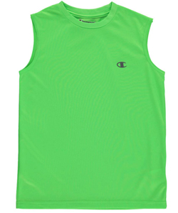 "Champion Big Boys' ""Reflective Logo"" Performance Tank Top (Sizes 8 – 20) - CookiesKids.com"