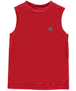 "Champion Little Boys' Toddler ""Reflective Logo"" Performance Tank Top (Sizes 2T – 4T) - CookiesKids.com"