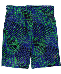 "Champion Little Boys' Toddler ""Laser Grid"" Athletic Shorts (Sizes 2T – 4T) - CookiesKids.com"