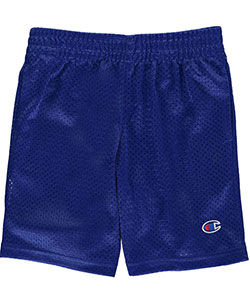 "Champion Little Boys' Toddler ""Logo Only"" Athletic Shorts (Sizes 2T – 4T) - CookiesKids.com"