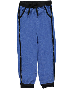 "Trendy Girl Big Girls' ""Bejeweled Piping"" Joggers (Sizes 7 – 16) - CookiesKids.com"