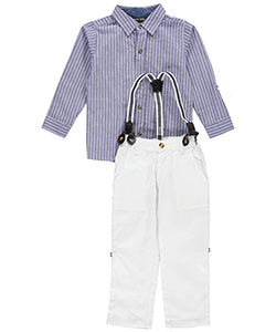 "City Ink Little Boys' Toddler ""Westhampton"" 2-Piece Outfit (Sizes 2T – 4T) - CookiesKids.com"