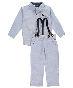 "City Ink Little Boys' Toddler ""Belmont"" 2-Piece Outfit (Sizes 2T – 4T) - CookiesKids.com"