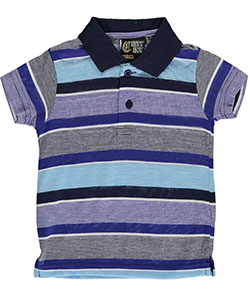 "City Ink Baby Boys' ""Helix"" Knit Polo Shirt - CookiesKids.com"