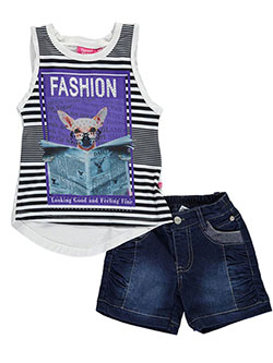 "Trendy Girl Baby Girls' ""Fashion Pages"" 2-Piece Outfit - CookiesKids.com"