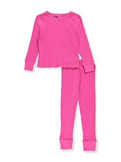 Ice2O Little Girls' Toddler 2-Piece Thermal Long Underwear Set (Sizes 2T – 4T) - CookiesKids.com