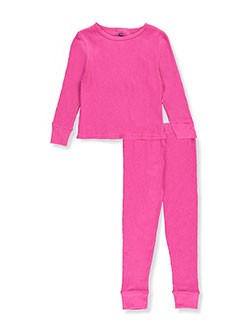 Ice2O Little Girls' 2-Piece Thermal Long Underwear Set (Sizes 4 – 6X) - CookiesKids.com