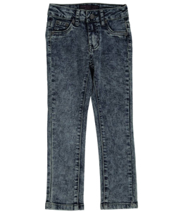 "O.S.C. Little Girls' ""Stitched Pockets"" Skinny Jeans (Sizes 4 – 6X) - CookiesKids.com"
