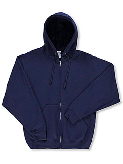 Jerzees Basic Fleece Hoodie with Drawstrings (Adult Sizes S – XL) - CookiesKids.com