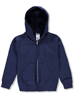 Jerzees Big Boys' Basic Fleece Hoodie (Sizes 8 – 20) - CookiesKids.com
