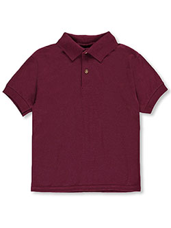 Gildan Boys' S/S Pique Polo (Youth Sizes S – XL) - CookiesKids.com