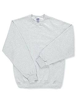 Jerzees Big Boys' Basic Fleece Sweatshirt (Youth Sizes S – XL) - CookiesKids.com