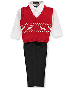 Happy Fella Baby Boys' 3-Piece Vest Set - CookiesKids.com