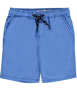"Famous Brand Little Boys' ""Twill & Drawstring"" Shorts (Sizes 4 – 7) - CookiesKids.com"