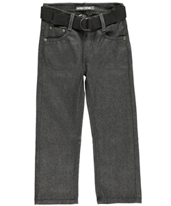 "Sacred Crown Little Boys ""Live It"" Belted Jeans - CookiesKids.com"