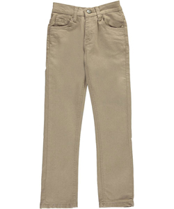 "Chams Little Boys' ""Stitched Lines"" Straight Fit Jeans (Sizes 4 – 7) - CookiesKids.com"