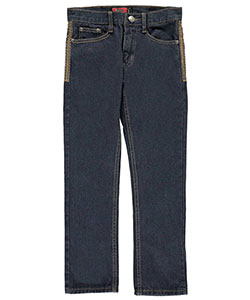 "Chams Big Boys' ""Embroidered Vintage"" Skinny Jeans (Sizes 8 – 20) - CookiesKids.com"