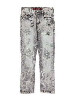 "GS-115 Big Boys' ""Spotted Stone"" Slim Fit Jeans (Sizes 8 – 20) - CookiesKids.com"