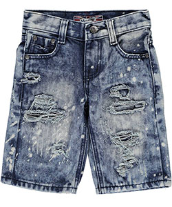 "Monarchy Little Boys' ""Ripper"" Denim Shorts (Sizes 4 – 7) - CookiesKids.com"