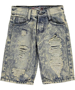 "Monarchy Little Boys' ""La Plata"" Denim Shorts (Sizes 4 – 7) - CookiesKids.com"