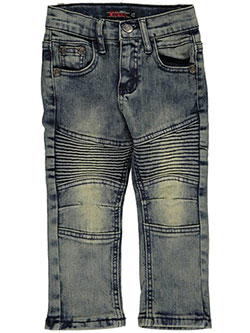 "Chams Little Boys' Toddler ""Revved Up"" Skinny Jeans (Sizes 2T – 4T) - CookiesKids.com"