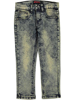 "Chams Little Boys' ""Axl"" Skinny Jeans (Sizes 4 – 7) - CookiesKids.com"